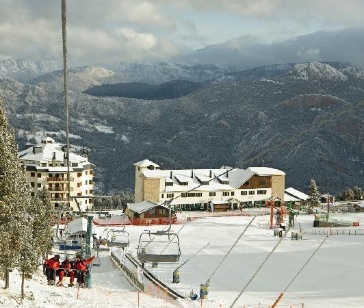SERHS Ski Port Del Comte Hotel: Vista Estación Esqui