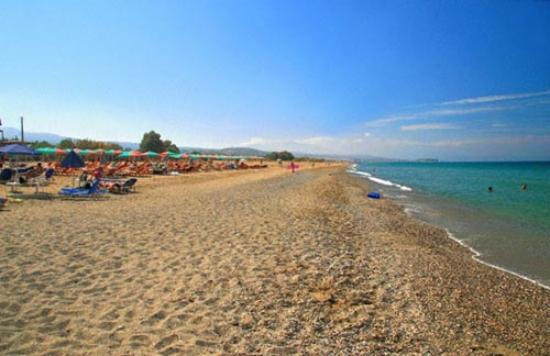 Platanias, Grekland: great beach