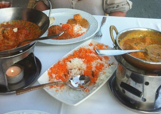Indian Restaurant Jaipur: lamb meat balls and chiken tikka masala