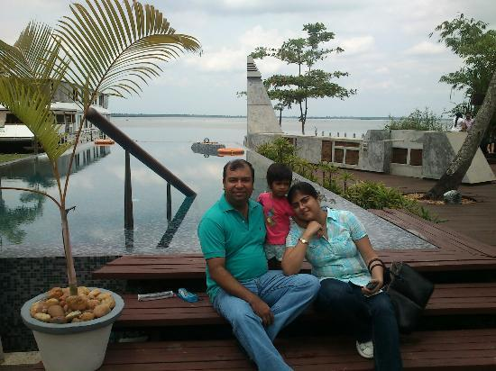 The Park on Vembanad Lake: near the pool
