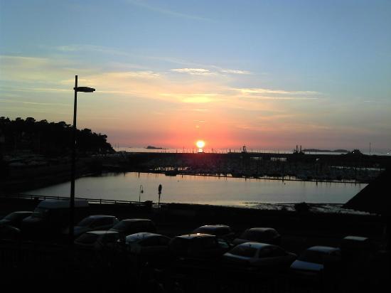Manoir du Cunningham Hotel: coucher de soleil