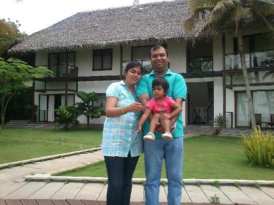 The Park on Vembanad Lake: the rooms in the background