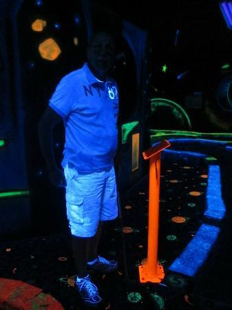 LazerPort Fun Center: Blacklight Golf...FREE with coupon!