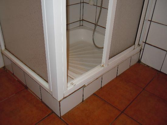Finca El Moral: Duschbereich im Bad