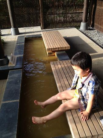 Arimarokusai : 足湯があります