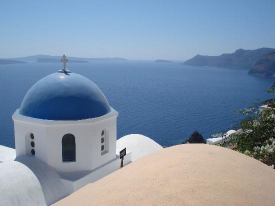 Santorini, Grecja: Village d'OIA
