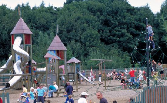 Ashby de la Zouch, UK: Adventure Play