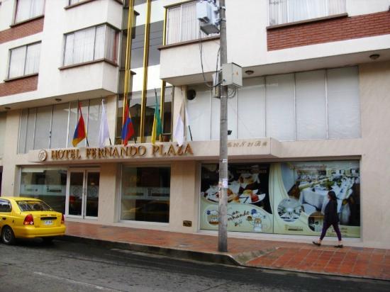 nuestro hotel Fernando Plaza