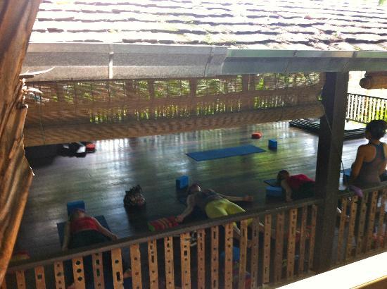 Spa Resort: Relaxing at Yogaclass