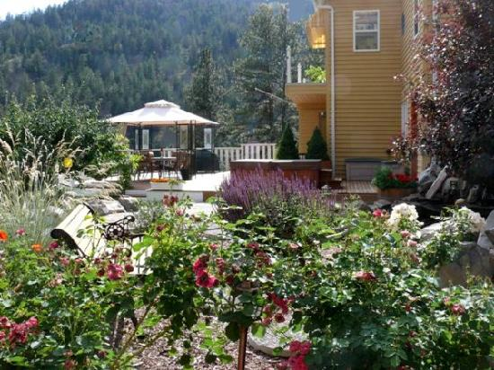 Grape Escape Guest House: Garden's out your front door.....