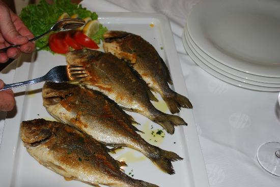 Sol Umag: Feine Fische im Speisesaal
