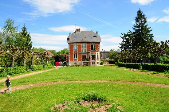 La Grande Maison : rear of house