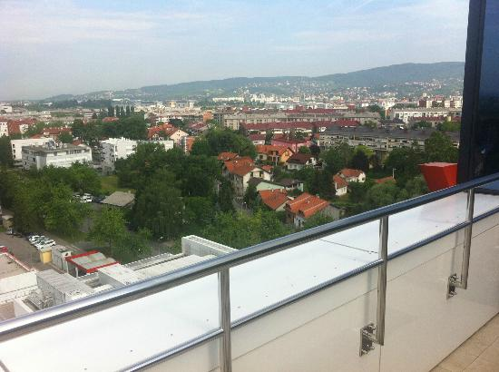 Hotel Antunovic: View from Spa Area