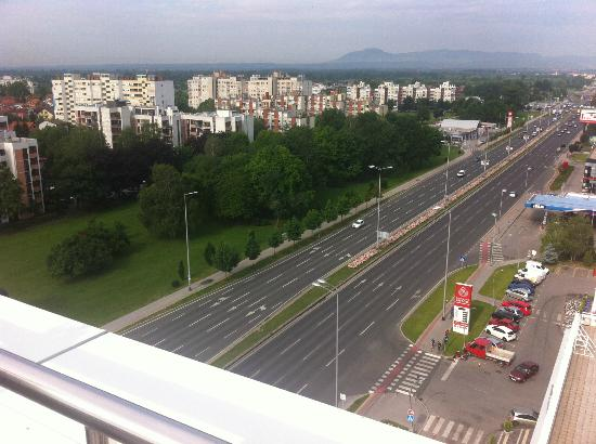 Hotel Antunovic Zagreb: View from Spa Area