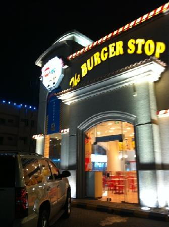 The Burger Stop: outside view