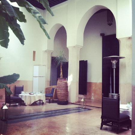 Riad 72: Courtyard/Lobby