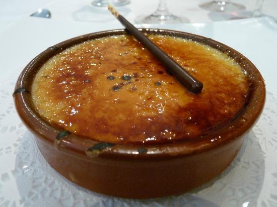 Restaurant Montserrat: crème catalane
