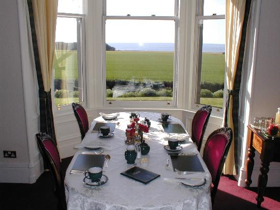 The Old Manor Carnoustie: Your breakfast table