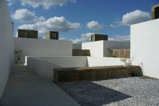 Villa Extramuros : L'accès aux chambre