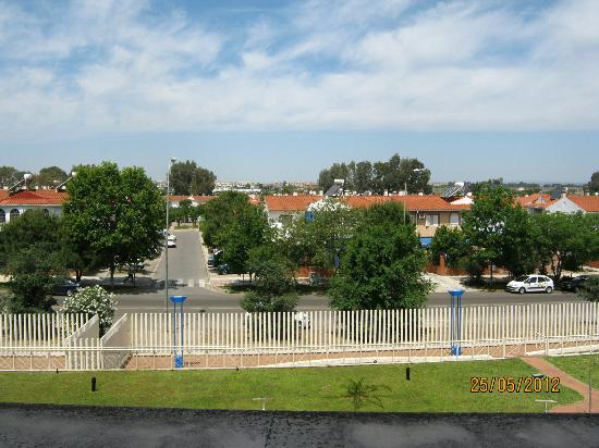 Luxsevilla Palacio: View from Studio Apartment 125