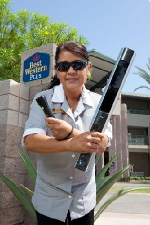 Best Western Plus Concord Inn: Purelight Sterilization Wands & UV Inspection Blacklights!