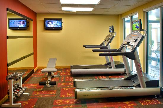Courtyard Allentown Bethlehem/Lehigh Valley Airport: Fitness Center