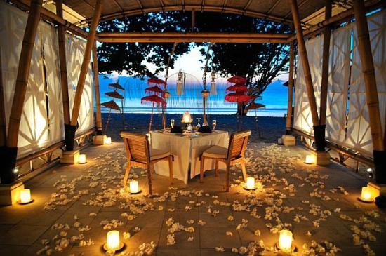 Belmond Jimbaran Puri: Our wedding set-up