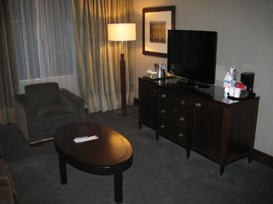 Hilton Mexico City Reforma: Lounge area