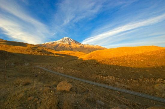 Amol, Iran: Damavand Mountain