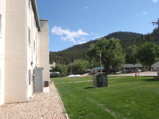 Motel 6 Hot Springs: Back of Motel