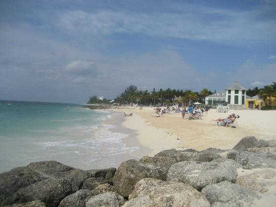Grand Lucayan Bahamas Private Beach Area