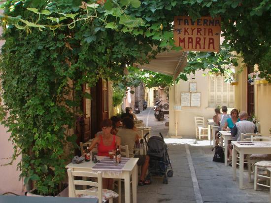 Taverna Kyria Maria: Trivelig sted
