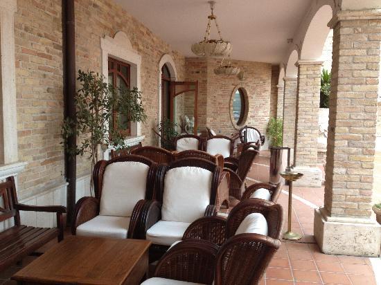 Hotel Casale: il patio