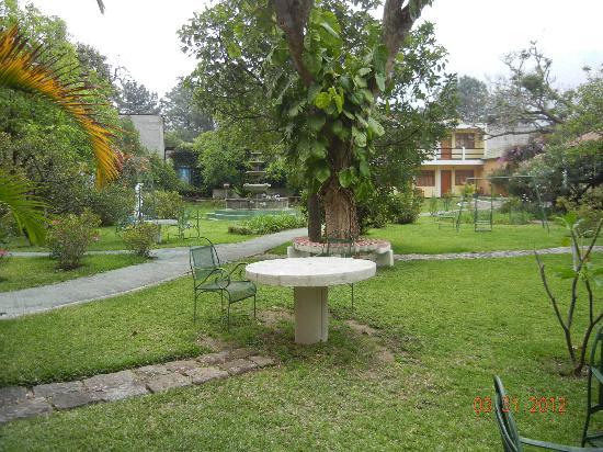 Grand Hotel: Garden view