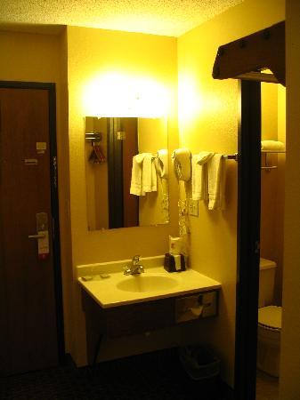Super 8 Sun Prairie/Madison E: Bathroom View