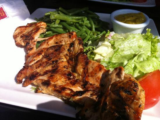 Brussels Grill - Debrouckere : Chicken steak