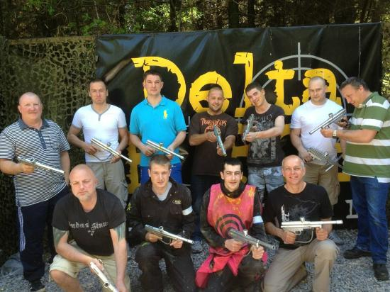Delta Force Paintball Plymouth : The A Team