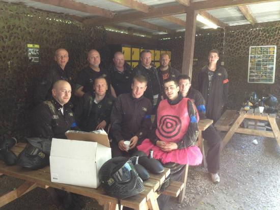 Delta Force Paintball Plymouth: Ready to roll