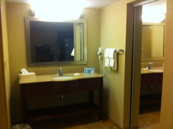 Hampton Inn & Suites Exmore - Eastern Shore: Sink and such