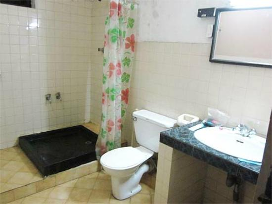 Hotel Nippon: Large old style Bathroom