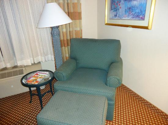 Hilton Garden Inn Denver Airport: Small seating area