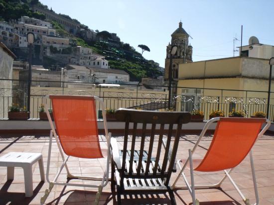 Hotel Amalfi : Rooftop breakfast location
