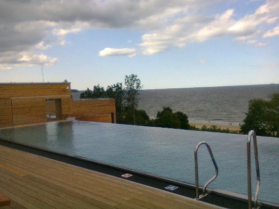 Sopot Marriott Resort & Spa: swimming pool on the roof
