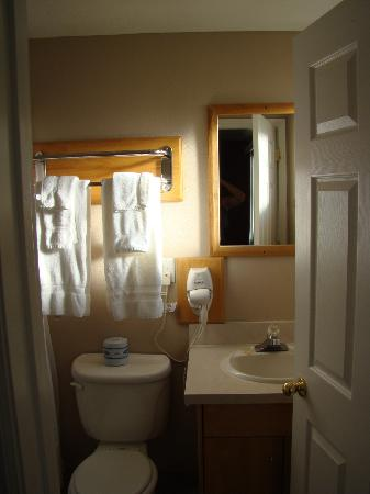 Purple Sage Motel: salle de bain