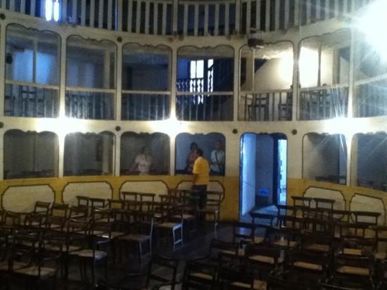 Teatro Municipal: vista interna