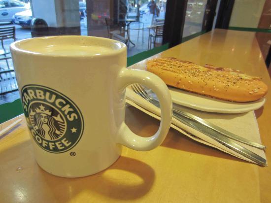 Starbucks at The Majestic Centre : Starbucks lunch