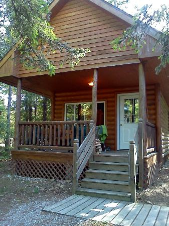 Mackinaw Mill Creek Campground: Our loft cabin