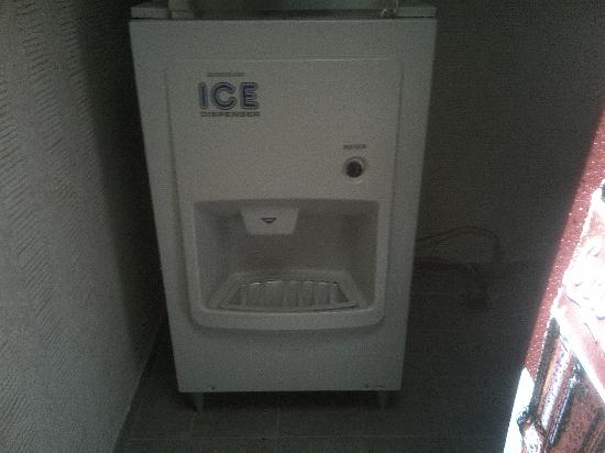 Hilton Knoxville Airport: Ice machine