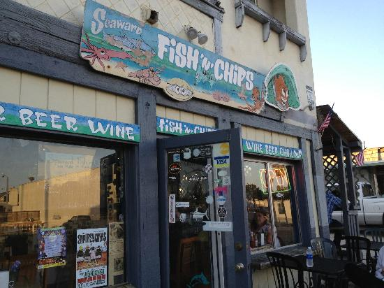 Seaward Village Fish & Chips: frontage