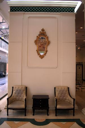 The Ecotel Bangkok: waiting area